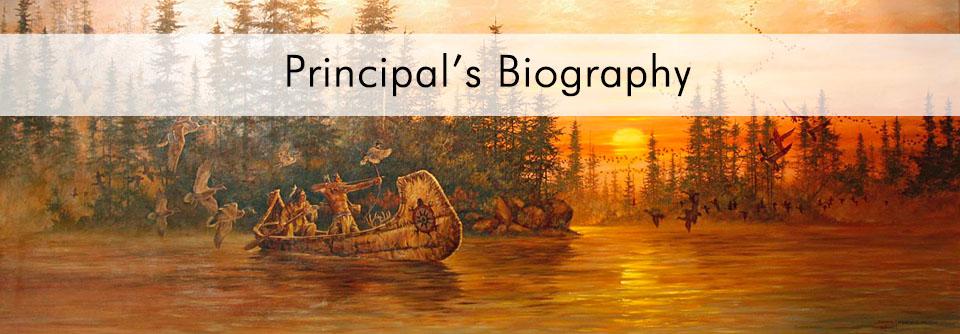 Principal's Biography